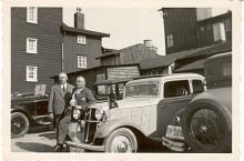 Hanomag Rekord - ett exemplar från 1935 fotograferat samma år i Westfalen.