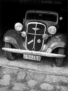 Ett ladufynd - svensksåld Hanomag Rekord 1937.
