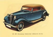 H4 Hanomag Rekord Cabriolet 1938