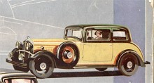 En elegant Fixed-Head Coupe var en variant av Morris Isis 1935.