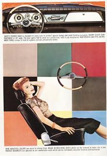 Vilstolsbeslag på framstolarna var inte vanligt på USA-bilar på 1960-talet. Det var ett mervärde som en liten tillverkare som Studebaker behövde.