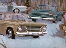 Det är omtvistat om Lark fanns som 1964 års modell, för på bilarna stod inte Lark. I broschyren kallades i alla fall de enklare modellerna Challenger och Commander för Lark.