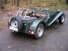 Lotus Seven 1965, tillhör Gunnar på Caterham Sweden.