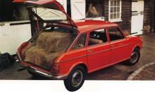 De från BMC 1800 ärvda dörrarna dominerade utseendet. Bra bil för hästfolk ville BLMC säga.