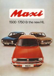 Toppmodellen 1750 HL hade dubbla SU-förgasare och 91 hk. Den kom som 1973 års modell men såldes aldrig i Sverige.