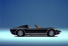 Miura Roadster premiärvisades 1968 på Brussels Auto Show och förblev en showbil.