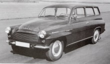 Den långlivade kombin fick en face-lift 1969 som gav den ett mer utslätat yttre.