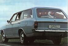 Rekord C i fyrdörrars kombiutförande var i Sverige inte så vanlig, här föredrog man ännu tvådörrarsbilar. Volvos 145 ändrade på det.