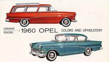 Ännu mer amerikaniserad var Rekord P som tillverkades 1958-60. Den såldes också i USA genom Buicks återförsäljare där den passade in fint med sin Buickliknande formgivning. Motorn var fortfarande den gamla toppventilaren från förkrigstiden men fanns nu också i en uppborrad 1700-version.