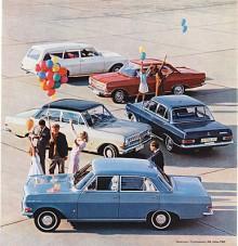 Det tyska ekonomiska undret tuffade på och Opel Rekord A som kom 1963 var mycket större än de tidigare och fanns i flera versioner. Den kunde till och med fås med Kapitäns sexcylindriga motor.