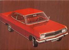 1966 kom en helt ny motor med kamaxeln i cylindertoppen men som strikt sett inte är överliggande för den verkar på ventilerna genom vipparmar och inte direkt. Opel kallade motorn CIH - Camshaft in Head. Bilen heter nu Rekord B och har front och akter i ny formgivning. En kortlivad modell, den fanns mindre än ett år.
