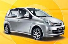 Från Malaysia kommer Perodua Viva. Modellen bygger på den sjätte generationen Daihatsu Mira.