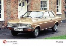 Den tredje och sista generationen Vauxhall Viva: HC introducerades 1970 och skulle tillverkas till 1979.