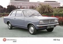 Runda former! Nästa generationen Viva, HB kallad, hade den form som känns igen från många andra GM-bilar från den här tiden.