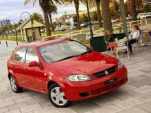 Holden Viva lär vi aldrig få se i Europa så vi får trösta oss med Chevrolet Lacetti.
