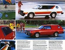 Ett år innan Teknikens Världs Projektbil 80: CommoVan. Pinto Wagon med Cruising Package ger riktigt grabbiga associationer. Tufft, ungdomligt, Pinto!