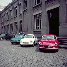 Alpine A106 byggde på Renault CV4 men var betydligt sportigare.