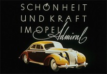 Första Admiralen var anpassad för Autobahn och byggdes mellan 1937 och krigsutbrottet 1939.