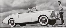 Första generationens Sunbeam Alpine byggde på saloonen Talbot 90 och var tvåsitsig