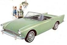 Andra generationens Alpine från Rootes kom 1959 och klarade redan i sin första upplaga den magiska gränsen 100 miles per hour.
