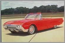 Thunderbird blev bara större med åren, här den häftiga -62:an.