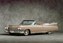 Den mest igenkända Cadillac-årsmodellen är nog -59:an med sina enorma fenor.