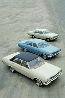 Opel satsade på sitt stora modellprogram på 1960-talat, mellanbarnet i syskonskaran KAD hette Admiral.