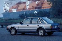 Med 1981 års modell kom Ford Escort Mk III.