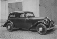Adler 1939 med de senare fälgarna.