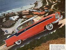 Näst sista året för Nash var 1956. Ambassador marknadsfördes som långresebilen. Den hade American Motors nya V8 som ersatte tidigare från Packard inköpta V8:or.