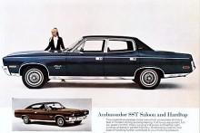 När Nash lagts ned som märke blev Ambassador en Rambler och från 1967 en AMC. Modellnamnet försvann ur katalogerna 1974. Bilen på bilden är av 1970 års modell.