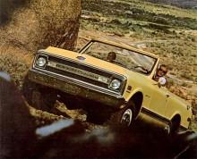 Chevrolet Blazer marknadsfördes som en bil för jakt, camping och som en bil för roliga resor till stranden.
