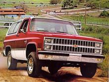 Den andra generationen Blazer tillverkades mellan 1973 och 1991. 1981 fick den en facelift med ett nytt strålkastararrangemang.
