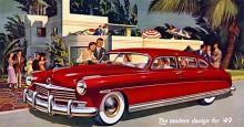 1949 introducerade Hudson en ny lyxigare modellvariant av sin Commodore, kallad Custom line.