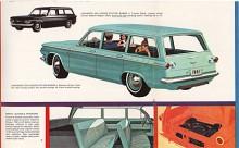 Stationsvagnen hette Corvair Lakewood och debuterade 1961. Den svarade för mindre än 2 procent av hela produktionen av Corvair. Någon stationsvagn fanns inte i generation 2.