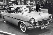 Generation 2 av Cresta hade en extremt amerikaniserad formgivning med tredelad bakruta precis som Buick och Olds. Cresta PA kunde fås i rosa och vitt och årsmodellerna var 1958 -1960.