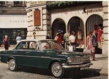 Fortfarande typ PB men från 1965 var motorn förstorad till 3,3 liter och nu fanns också fyrväxlad manuell låda med golvspak.