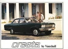 Typ PC var den sista upplagan av Cresta och nu fanns inte Velox längre. Cresta fanns därför i två versioner, Cresta och Cresta de Luxe. En stor bil, 4,72 m lång och 1,77 m bred . Sexan var på 142 hk SAE. Årsmodeller från 1966 till 1972.