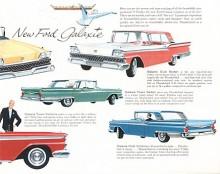 Galaxie introducerades som en toppmodell i Fords fullsize-serie 1959. En lyxigare Fairlane.