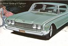 Ny kaross redan 1960, Ford lämnade 1950-talet direkt.