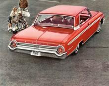 De stora runda bakljusen var ett Ford-signum., här är en -62:a.