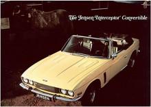 1974 kom den öppna versionen. Endast 267 byggdes.