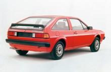 Scirocco II såg helt ny ut men byggde på samma bottenplatta, den så kallade A1. Höll till 1992.