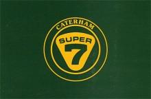 Originalemblemet för Caterham Super Seven.
