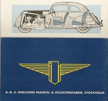 Byggnadssättet gav bra viktfördelning och låg tyngdpunkt. Den fyra växlarna manövrerades med rattspak, men handbromsen satt mitt på golvet. Bromsarna var mekaniska. Emblemet var en stiliserad örn - Adler är tyska för örn. Generalagent var anrika Wiklunds som också sålde Packard.