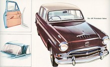 Till säsongen 1957 var det dags för en omarbetning till ett elegantare yttre. Effekten ökade från 85 till 92 hk så nu hette bilen A95. Modellbeteckningarna rundades alltså av uppåt.