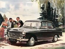 Westminster kom 1961 som A110. Den hade 120 hk så nu överdrev modellbeteckningen inte den verkliga effekten. Tillverkningen av Austins stora Farinamodeller upphörde 1968.