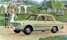 Längmonterad motor och bakhjulsdrift, inga krångligheter. Lite bakåtlutad stil och soprent på backspeglar.