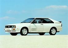 Vit lack, Audi Quattro - kan det bli mer 1980-tal?