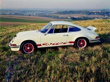 Sjuttiotalsläcker är den här 911 Carrera RS från 1973.